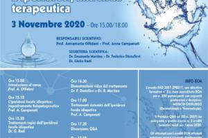 Webinar: L'iperidrosi, una sfida terapeutica 3 Novembre 2020