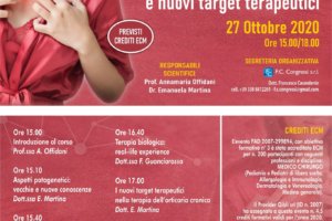 Webinar: Orticaria cronica spontanea e nuovi target terapeutici 27 Ottobre 2020