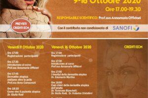 Webinar: Update in Dermatite Atopica 9-16 Ottobre 2020