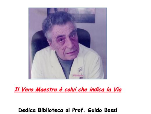 Inaugurazione Biblioteca Guido Bossi 9 settembre 2021