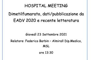 Hospital Meeting 23 Settembre 2021